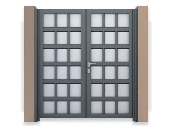 cancello alluminio matina