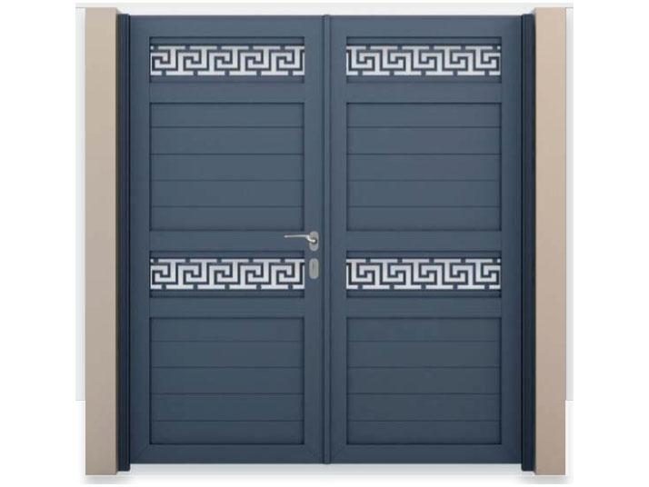 cancello alluminio matina verniciato